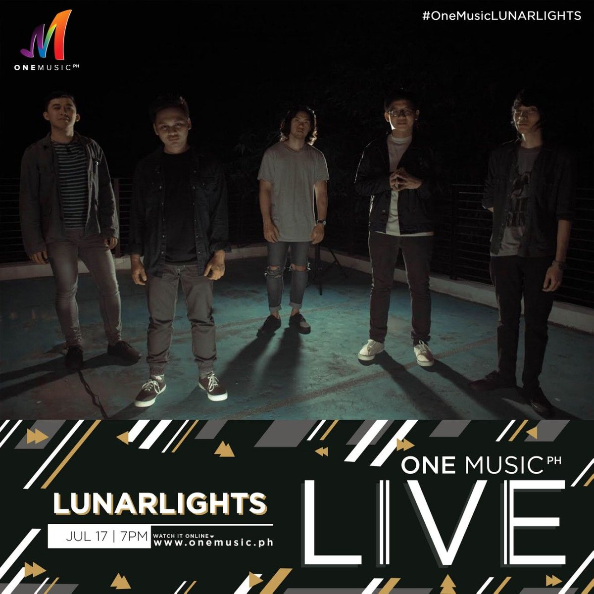Were coming back for another #OneMusicLIVE session next Tuesday! Catch @LunarLightsph on July 17, starting 7 PM only on the One Music PH Facebook and YouTube channel!