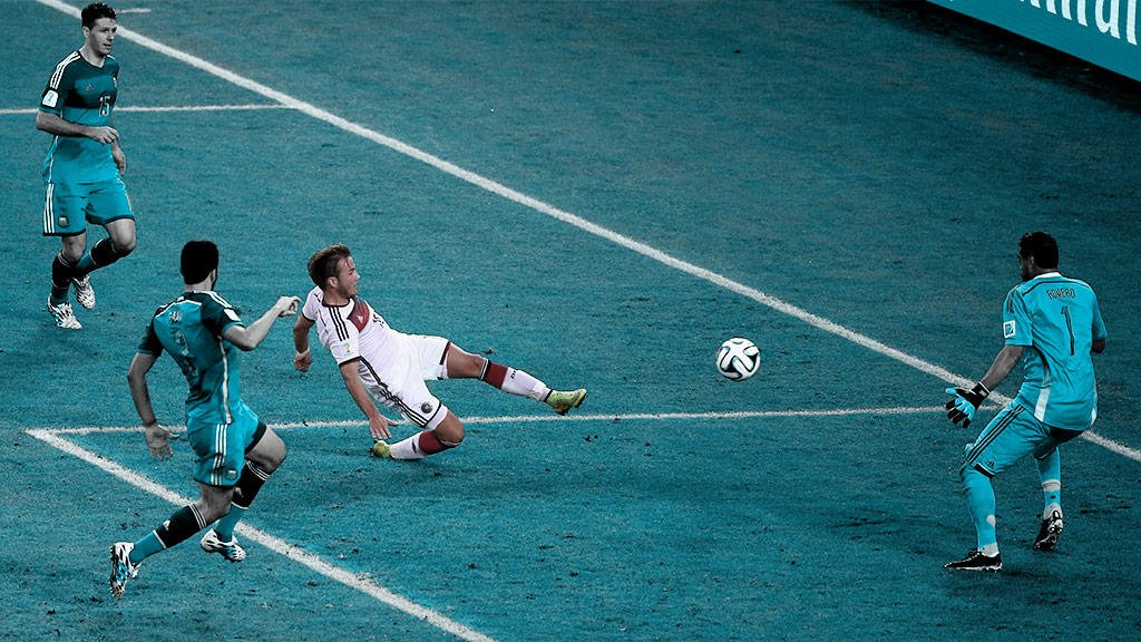 On this day four years ago, Mario Gotze's extra-time goal won Germany the #WorldCup  #GER 1-0 #ARG
