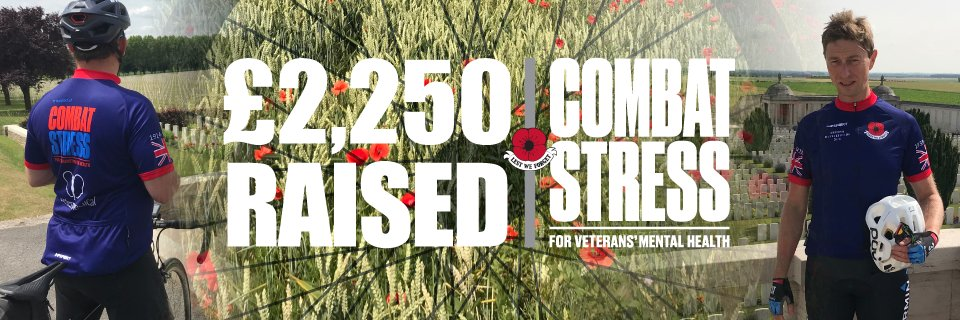 Fantastic achievement, once again, from our very own Director and Consultant in Reconstructive and Aesthetic Plastic Surgery - Chris Stone.   Donations currently totalling £2,250.00 raised for #combatstress  https://t.co/J2t7oMMbuU https://t.co/kvNIzb36Cv