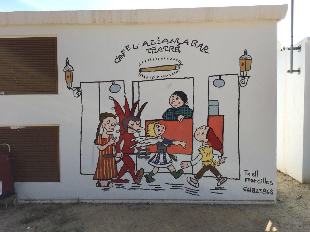 Resultado de imagen de Txell Marcillas mural
