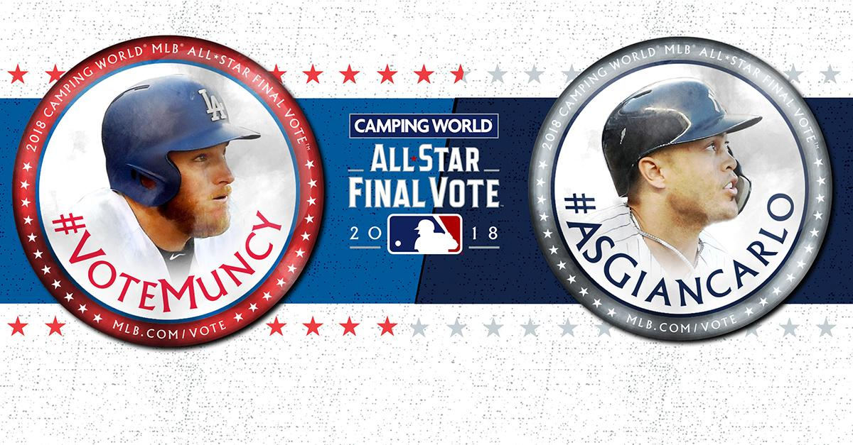 SEVEN. MORE. HOURS.  #VoteMuncy and #ASGiancarlo at https://t.co/SSqaZ79Scn! https://t.co/Si2Zoyct6R