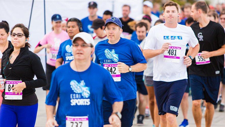 Esri 5k Runners