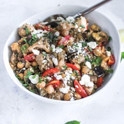 Chicken breasts> 25 minute meal prep recipe of Eggplant Chickpea - https://t.co/tma9XWqKpM #recipe https://t.co/dSuISWmbgk