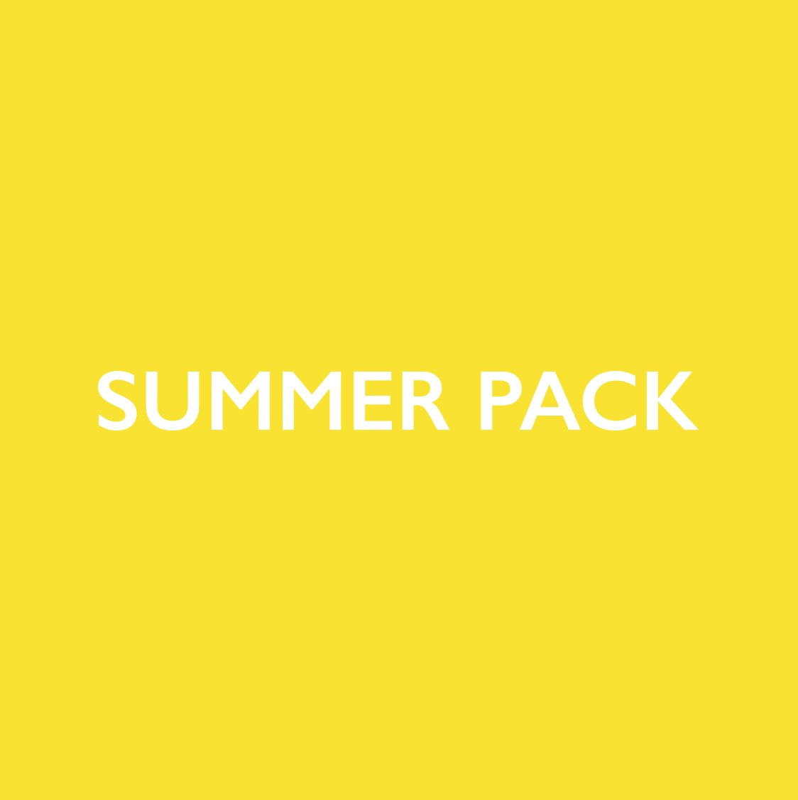 summer pack.   https://t.co/kpBkk31hFe https://t.co/7akhDVC65k