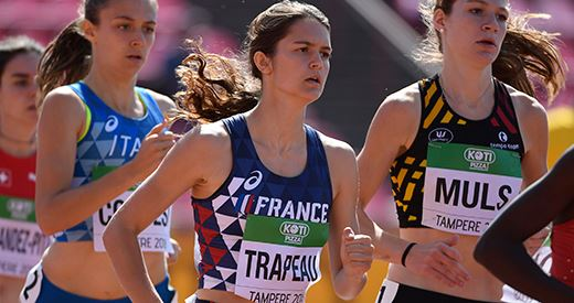 🇲🇫 Championnats du monde juniors : Ngandu-Ntumba, Moindrot et Trapeau assurent 👉 📢 #IAAFworlds Foto