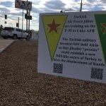 YPG International is everywhere. Luke Air Force Base, near Phoenix. Long live the Resistance of the Age in Afrin! https://t.co/sVx7bYPWxA