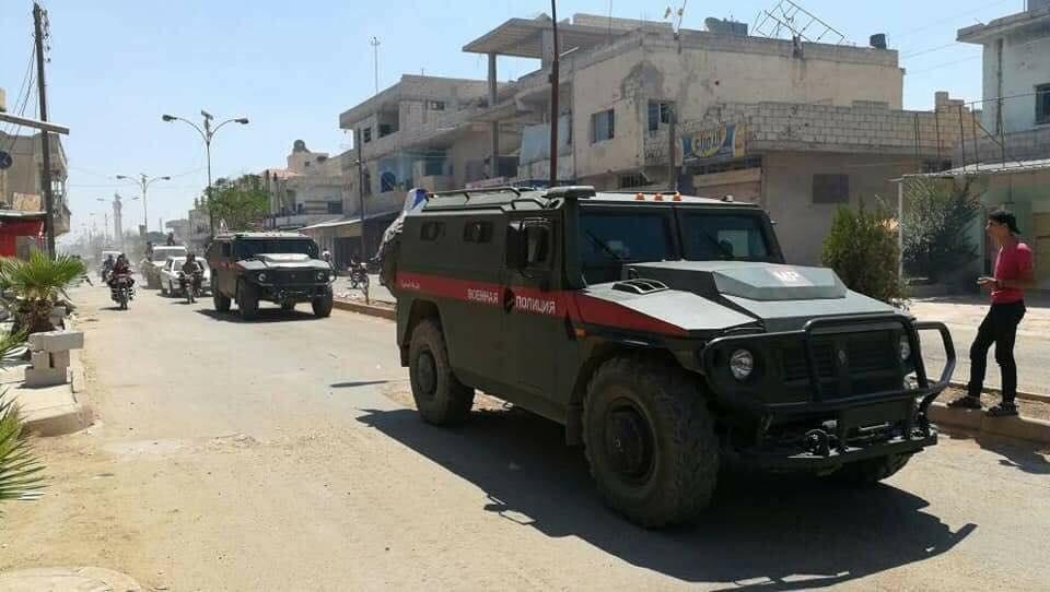 Сегодня был освобожден город Тафас к западу от Дераа