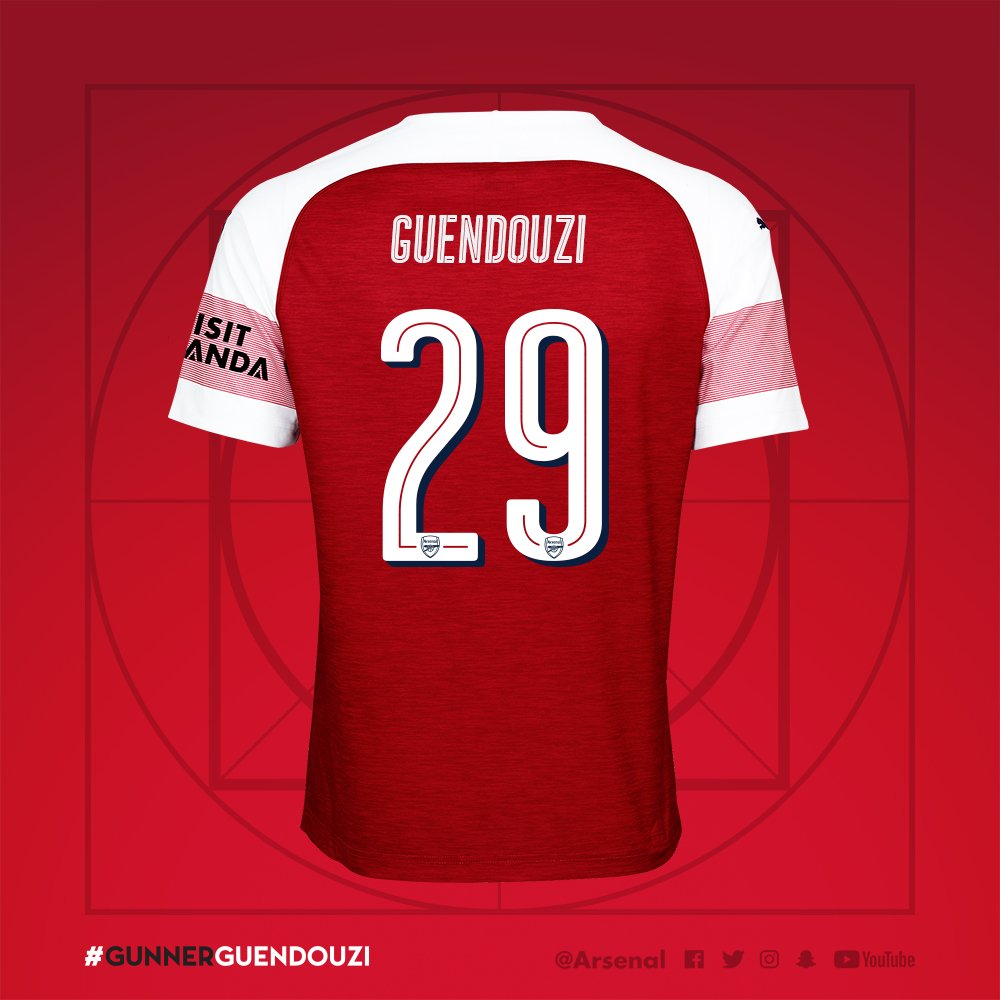 sports shoes 36f05 5e376 Confirmed: Matteo Guendouzi's shirt number revealed after ...