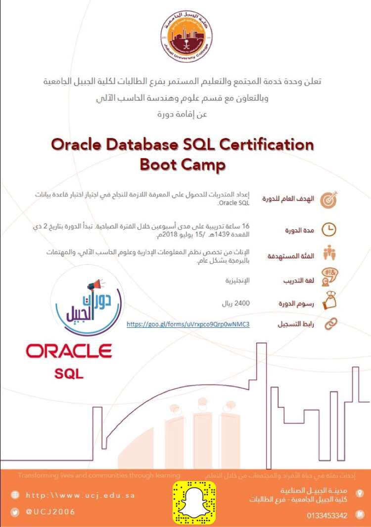 On Twitter Oracle Database Sql Certification