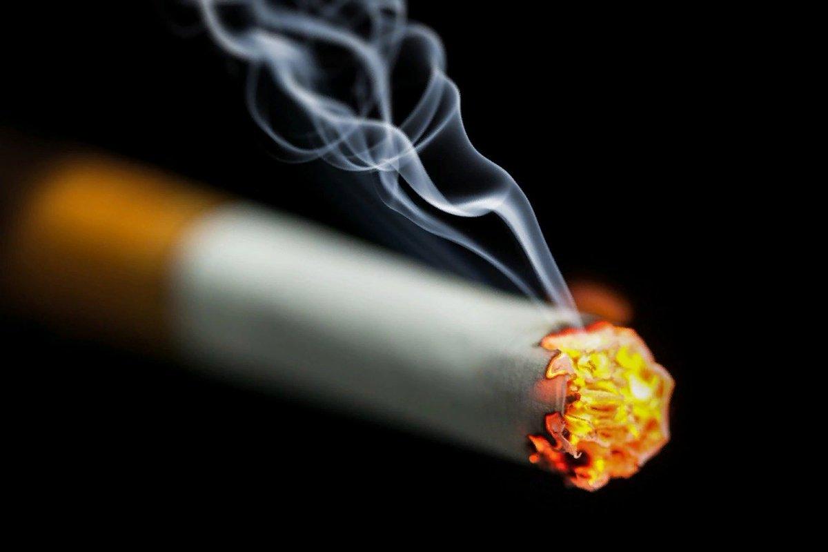 Картинка сигареты с дымом