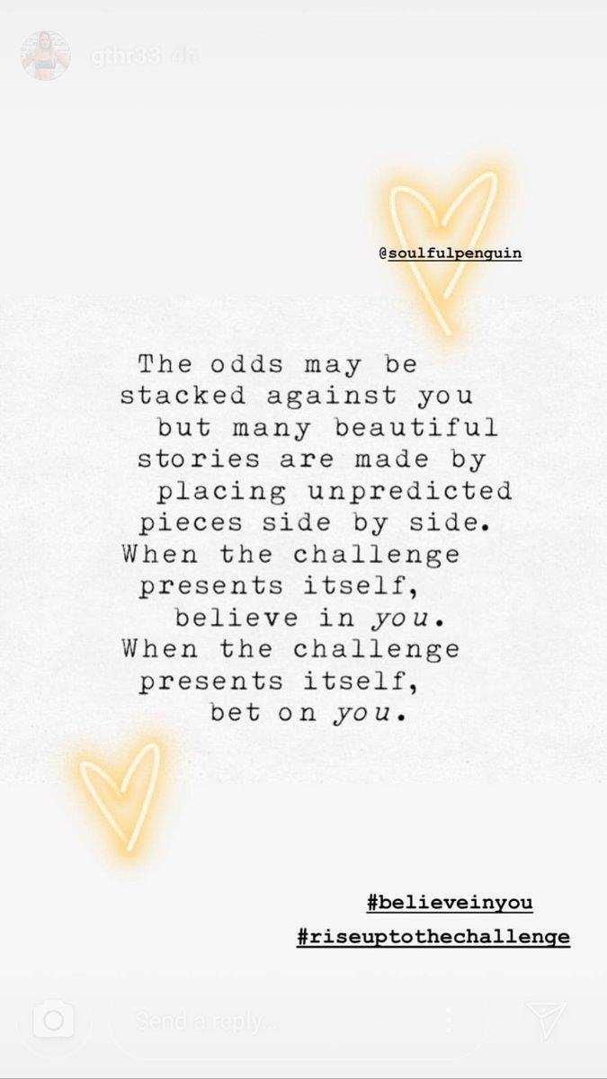 Believe in you...   Bet on you...    #soulfulpenguin #BelieveInYourself #believeinyou #riseuptothechallenge #stories #beautiful #challenge @GiDiSalvatore3<br>http://pic.twitter.com/7ELq7Jys7y