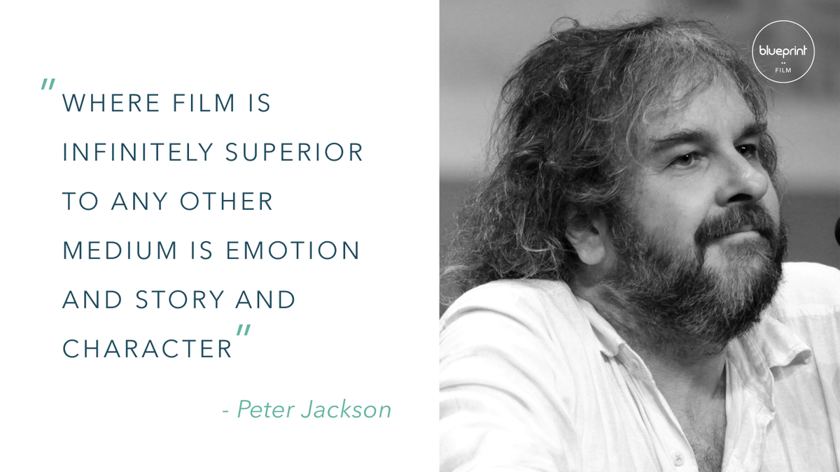 Blueprint film blueprintfilm twitter infinitely superior to any other medium is emotion and story and character peter jackson wednesdaywisdom filmproduction picitterqyi5zbu7kj malvernweather Image collections