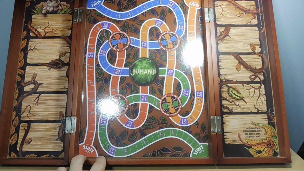 The Rpf On Twitter Jumanji Board Game Wooden Cardinal Games