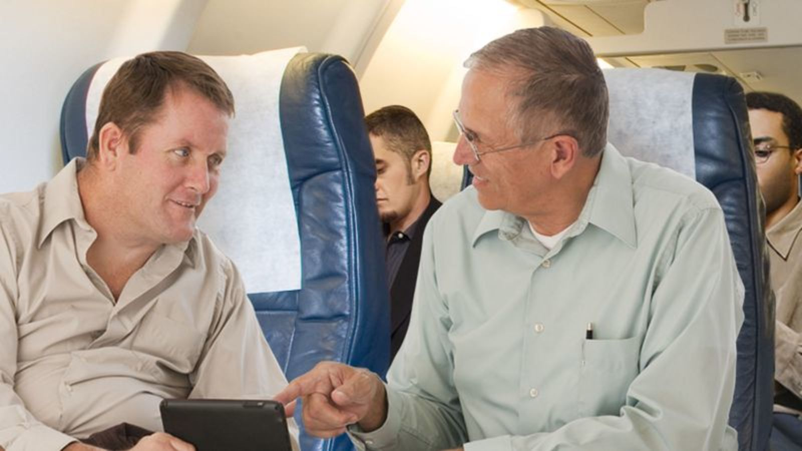 Guys With Boring Jobs Really Hitting It Off A Few Rows Back On Airplane https://t.co/oYssOxHhu6 https://t.co/qdsLFQAqGt