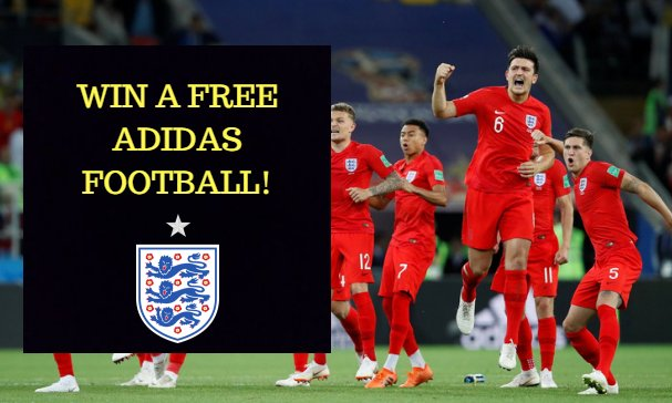 Are you looking forward to the #ENGCRO match tonight? We have teamed up with @ContiUK to offer you a fantastic #WorldCup #GIVEAWAY! #WIN A #FREE ADIDAS STARLANCER FOOTBALL! To enter: #LIKE, #FOLLOW + #RT. #ENG #WaistcoatWednesday #Freebie #Competition #FootballsComingHome⚽️