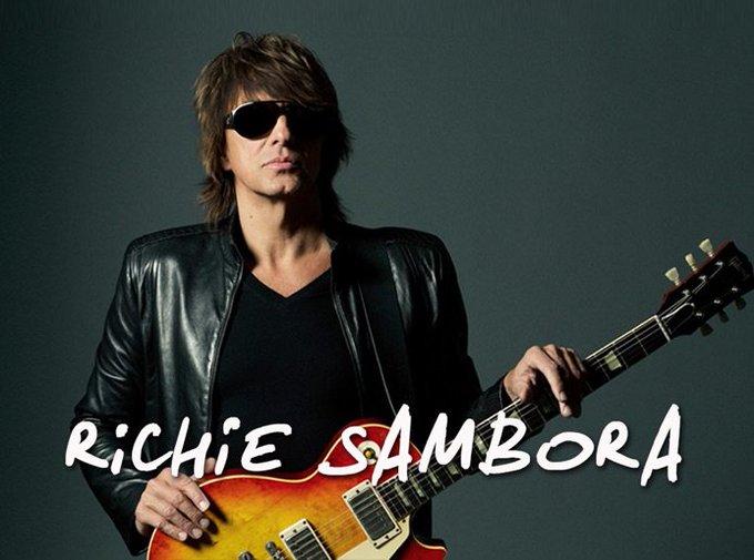 Guitarist Richie Sambora is 59 today. Happy Birthday!