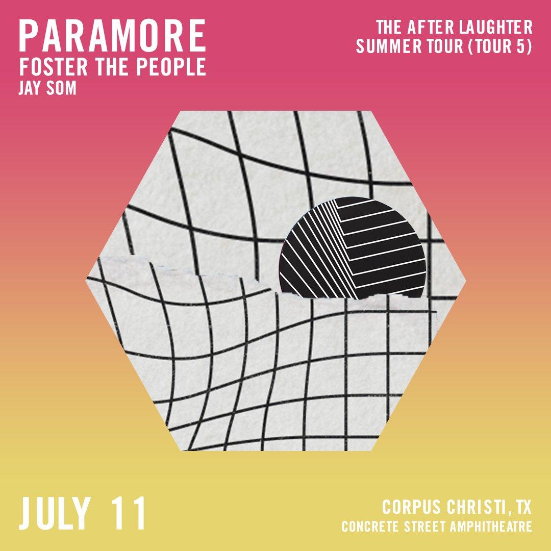 Show 19: Corpus Christi, TX at Concrete Street Amphitheatre #tour5 ��️: https://t.co/rLpvB2HoDj https://t.co/N9h4Fsjz6E