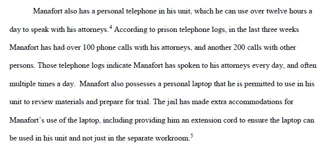 Manafort's phone and computer access in jail:  https://t.co/L4C0JNqmep