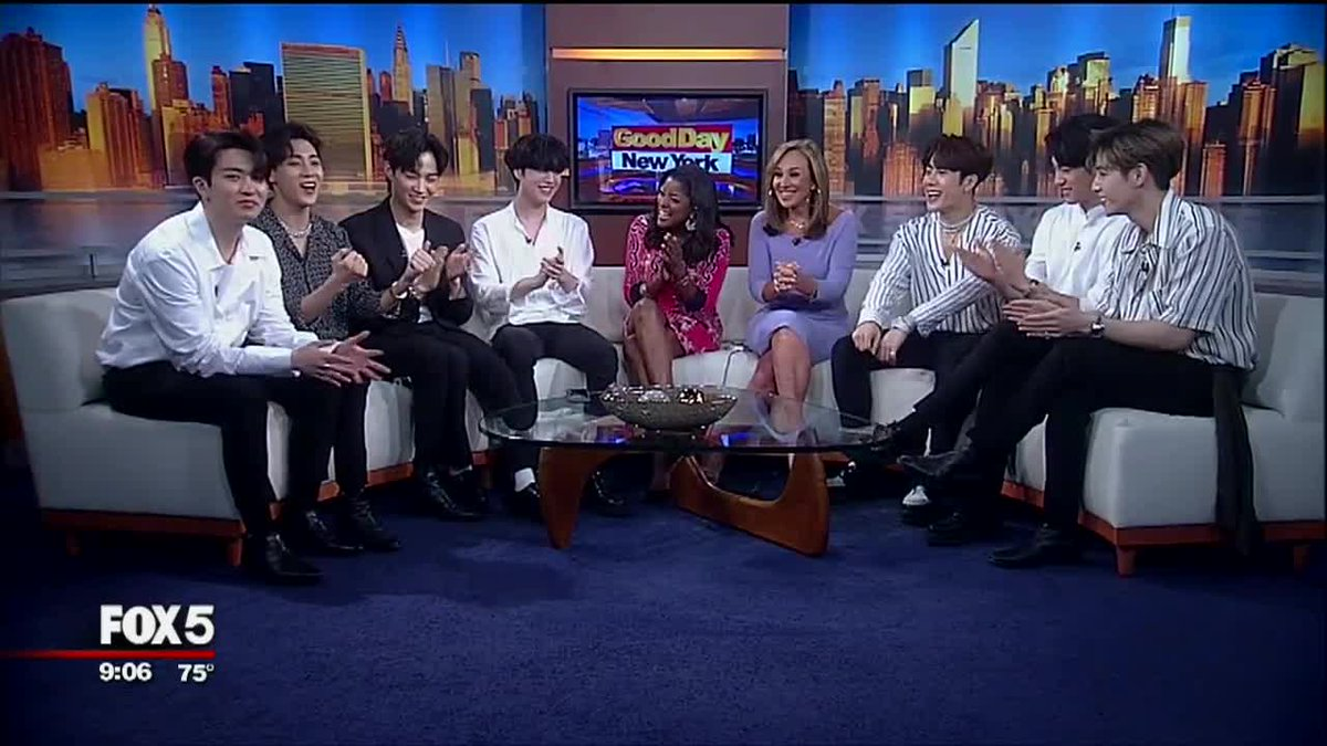 ICYMI: We #GOT7OnGoodDayNY Watch the K-Pop sensations' interview with @rosannascotto @loristokes PART 1 at this link: https://t.co/qOfsq0pxH2 @GOT7Official #GDNY #K-Pop #KPopPop