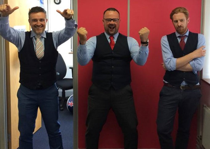 test Twitter Media - It's kicking off here at justteachers! We're supporting our England team today in style across our offices...We are all rooting for you tonight.  #comeonengland https://t.co/6gYRk95FQH