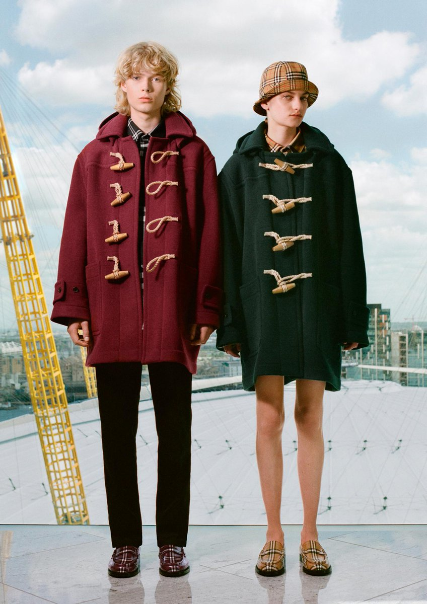 Explore Gosha Rubchinskiy's second drop for #Burberry as he celebrates our outerwear icons and the Burberry check #GoshaRubchinskiyXBurberry https://t.co/3HlGWse5ft