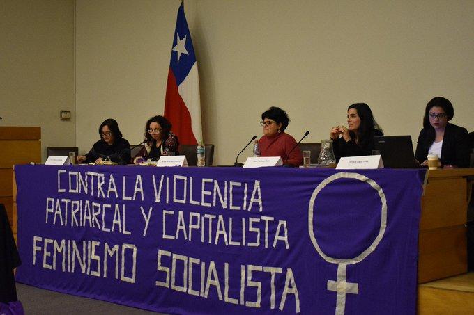 Ayer participamos del Foro: Tensiones y convergencias para un feminismo socialista. Gran espacio de reflexión, sororidad y aprendizaje! Excelente y maravillosa jornada #BuenMartes @MujeresPS Foto