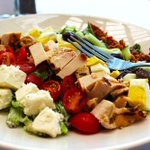Image for the Tweet beginning: Our Cobb salad is perfect