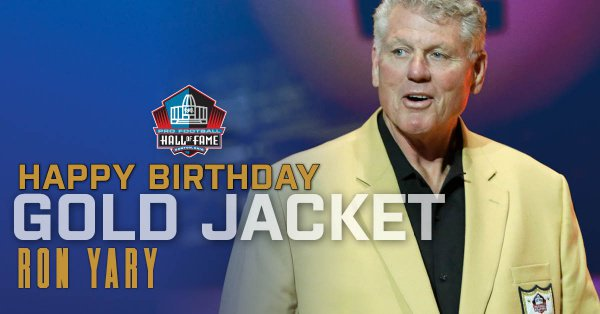 Happy Birthday to Hall of Fame Tackle Ron Yary! Hall of Fame Enshrinement Class of 2001. RT to wish the @Vikings legend a Happy Birthday!