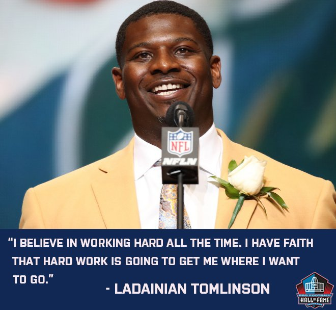 """""""I believe in working hard all the time. I have faith that hard work is going to get me where I want to go."""" – @LT_21 #MotivationMonday #MondayMotivation #Motivate #Inspire #Monday"""