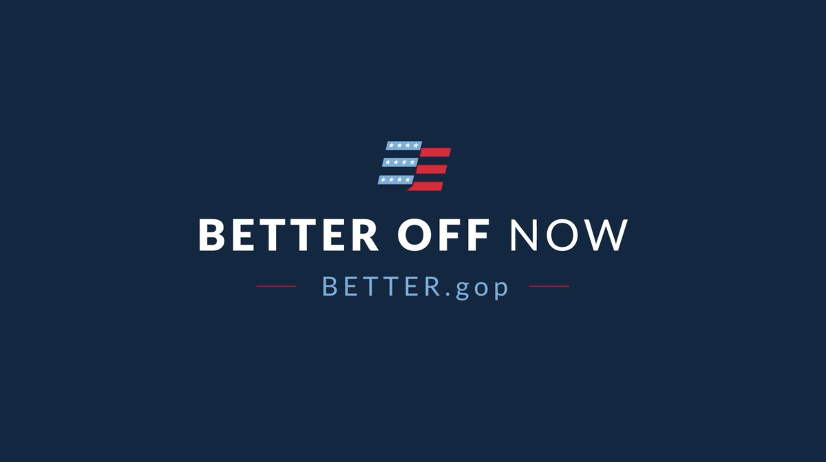 We made a promise to everyday Americans to tackle some of the biggest challenges facing this country. With our bold policy agenda, America is #BetterOffNow. better.gop
