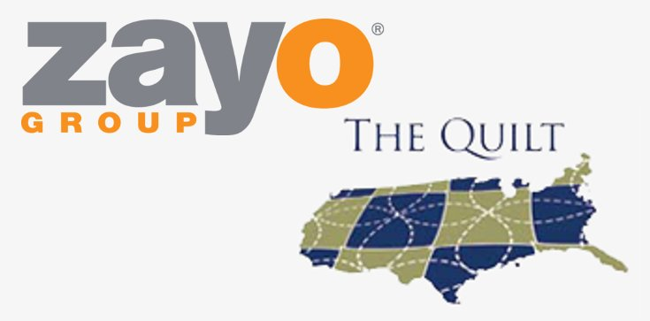 Zayo Network Map