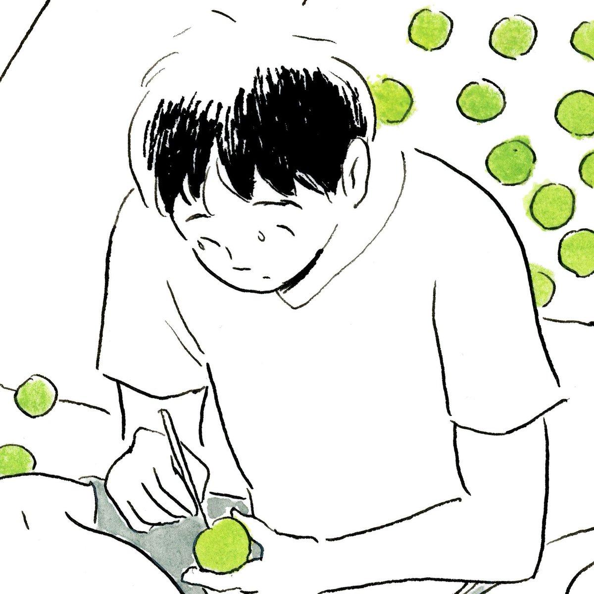梅仕事(2018・全体/部分)