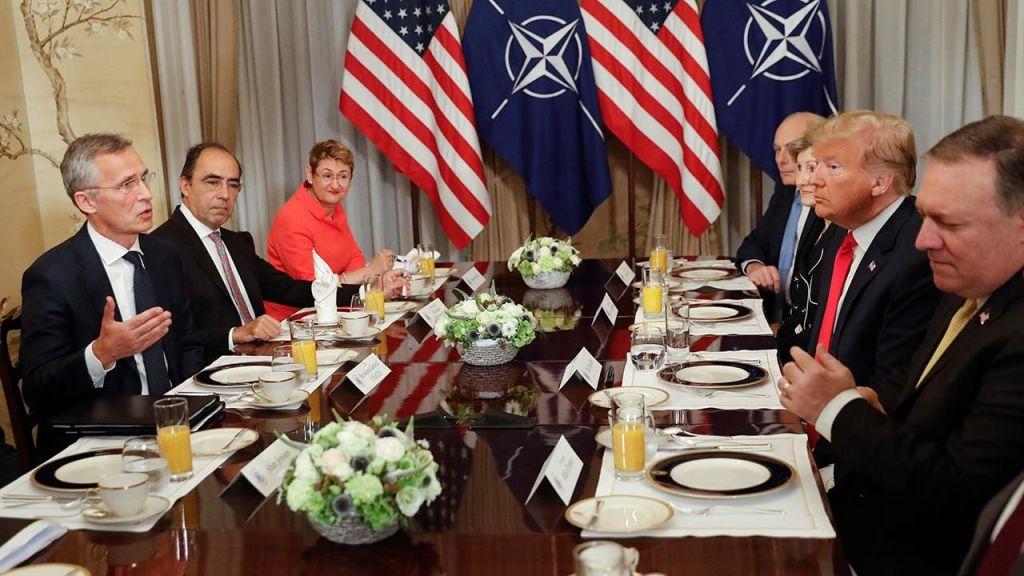 Саммит НАТО. Трамп  отозвал свою подпись под итоговой декларацией