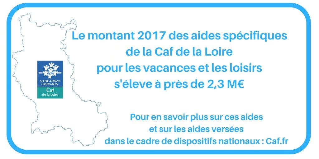 Caf De La Loire On Twitter Aides Aux Vacances Et Loisirs Https