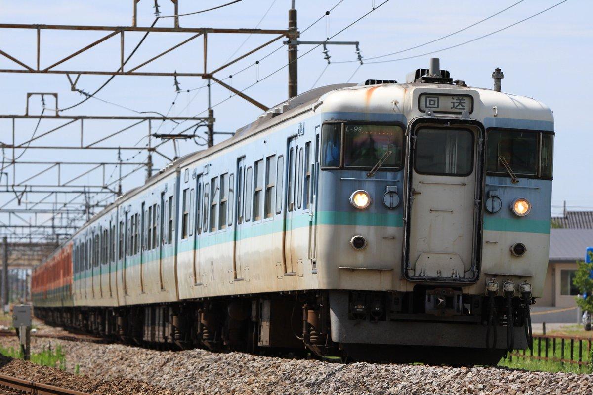 回9731M L99編成+高タカ車6両 高校時代の面子と新潟まで追っかけて撮ってきました。これでL99編成は帰ってこないのでしょうか…
