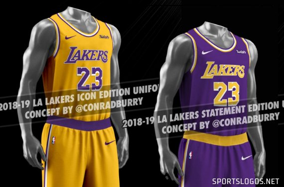 newest 94539 11cf4 New Laker Jersey Leak - Page 2 - RealGM