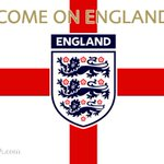 Image for the Tweet beginning: Good Luck to England in