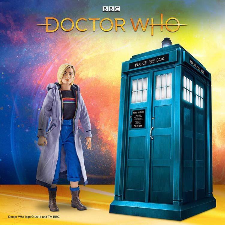 Doctor Who 13th Dottore Figura 26CM