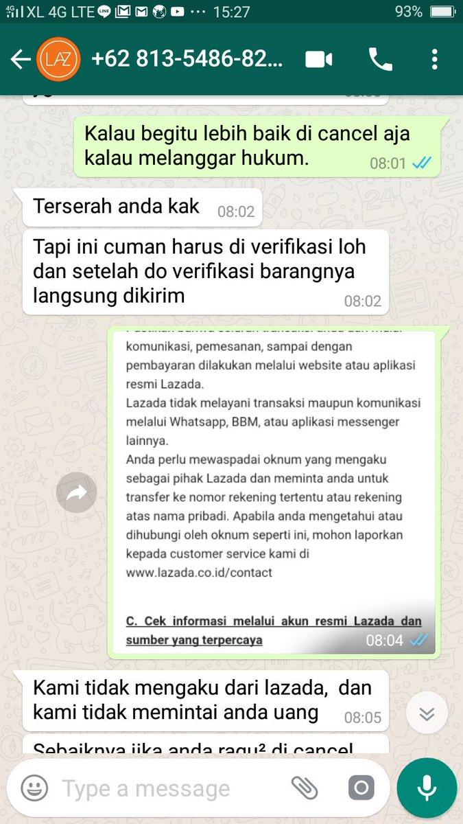 Lovebird ٹوئٹر پر Penipu Dr Seller Lazada Menyuruh Kiya Isi Data
