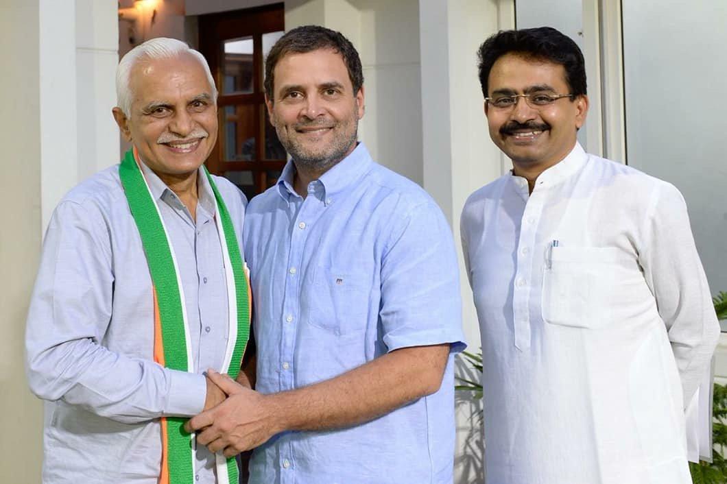 BJP, Sadbhavna Manch, AAP and now Kanubhai Kalsariya joins Congress; meets Rahul Gandhi