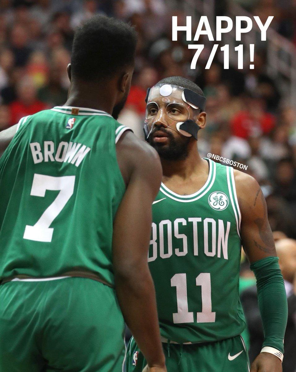 Celtics on NBC Sports Boston's photo on #7ElevenDay