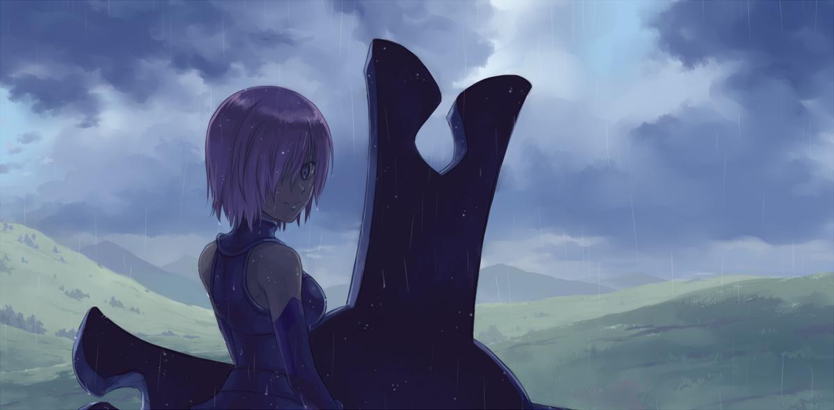 【FGO】「雨が上がりそうですよ、先輩」