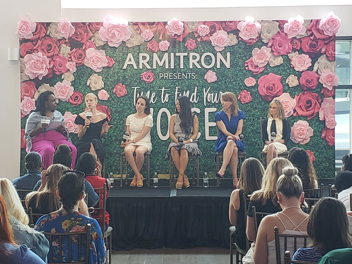 Loving the @ArmitronWatches #timetofindyourvoice panel at #BabypaloozaNYC! Thanks @bustle, @CeCeOlisa, @girlsleadership, Tiffany Ishiguro, #todayparents &amp; #armitronwatches for sharing your voices!<br>http://pic.twitter.com/Rc1rvoEXWi