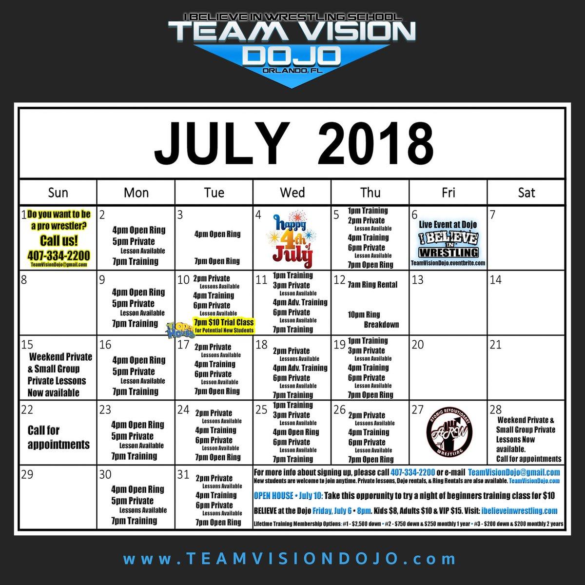 Team Vision Dojo on Twitter: