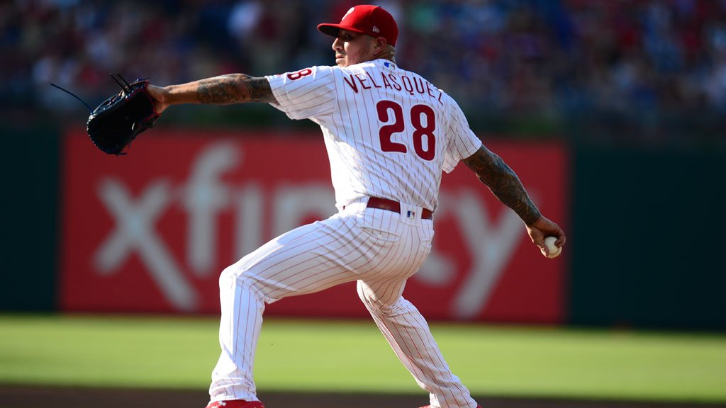 #Phillies have reinstated RHP Vince Velasquez from the 10-day DL.  He will start tonight's game. https://t.co/ziS02mawhz