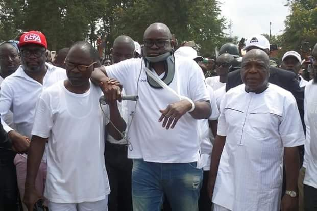 Image result for Governor Fayose is overdramatic, says Police