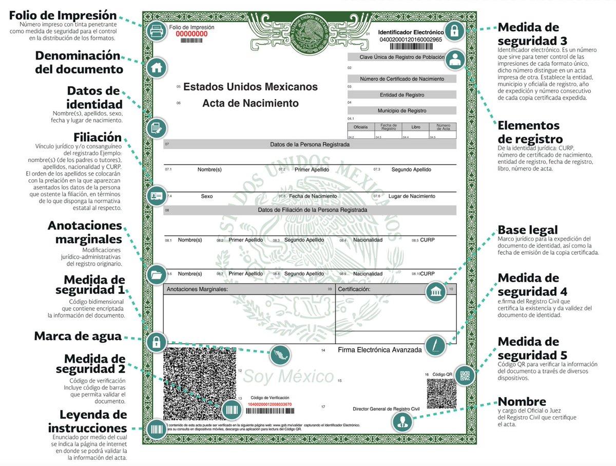 Lujoso El Orden De Nacimiento Certificado De Ontario Ideas ...
