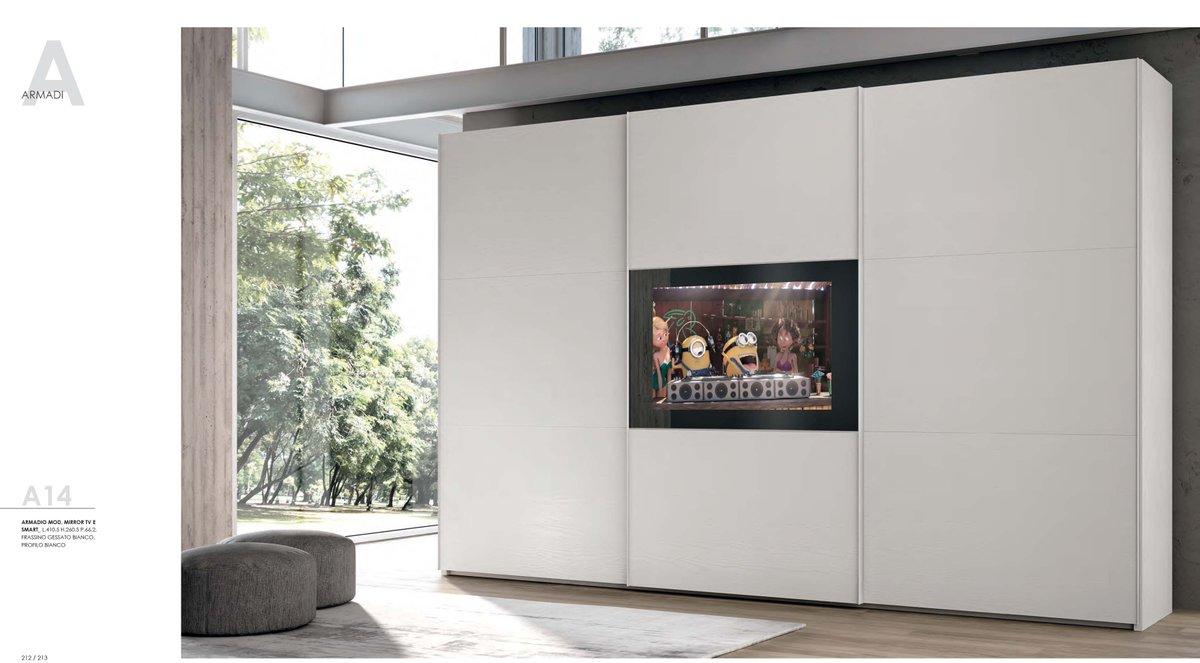 Armadio Mirror Tv – Spazio