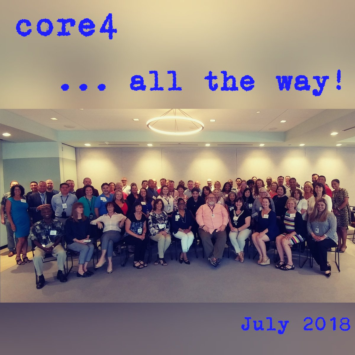 Here they are ....... the most dedicated, talented and extraordinary training team anywhere! So fortunate to work with this group everyday, truly the BEST! @weareunited #beingunited #core4