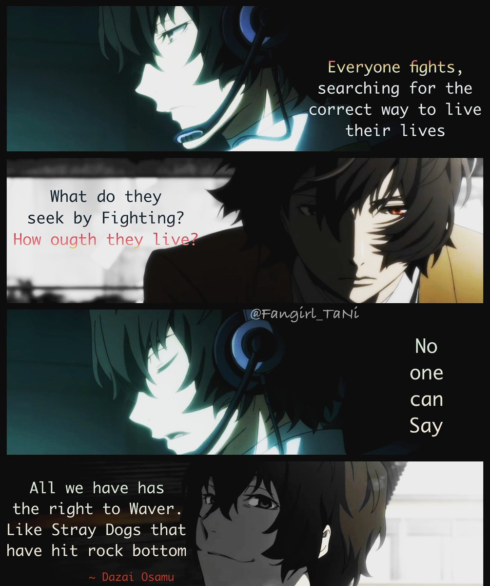 anime❉quote meme ✬editor✬ on anime quote dazai